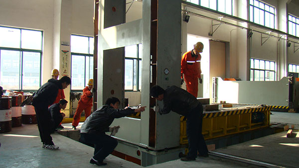 油压机设备安装