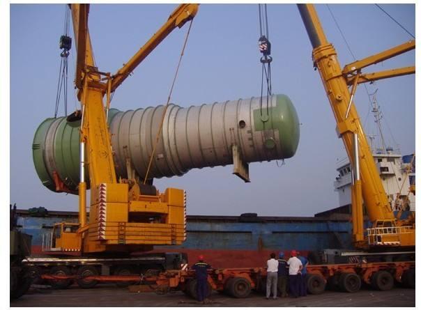 无锡大型设备搬运吊装过程