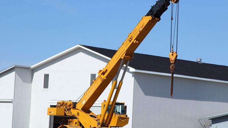 无锡设备搬运吊装过程