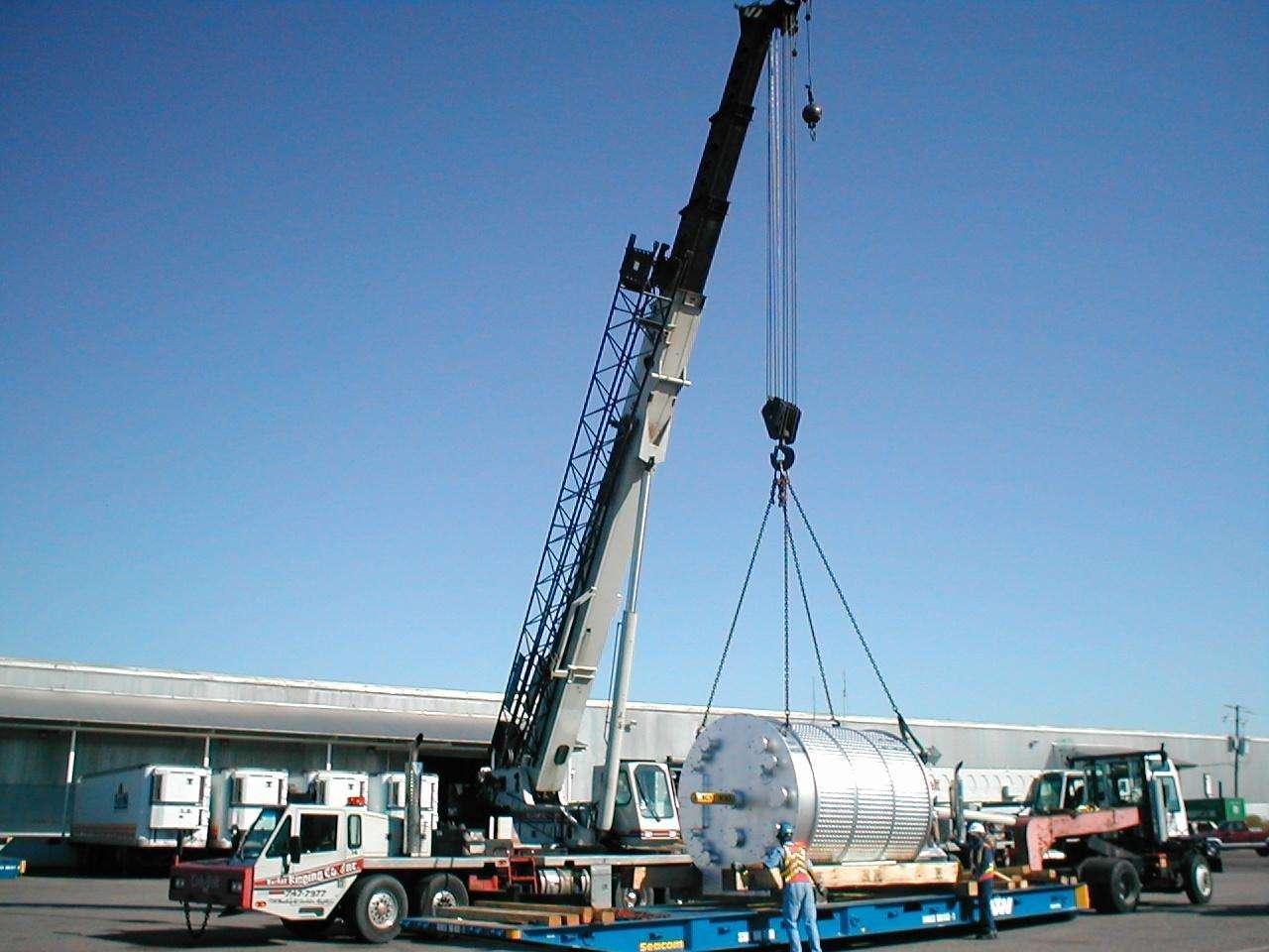 设备吊装搬运作业